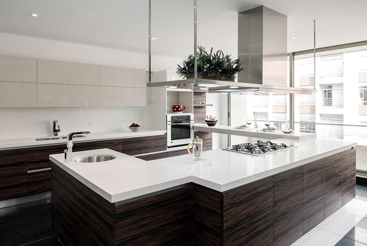 Cocina | Tipo L con Isla - Chapilla - Cocinas Nicol | Cocinas Modernas